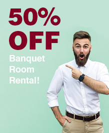Meeting Banquet 50% OFF